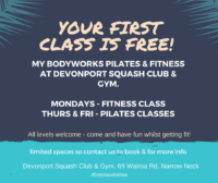 Its' time for exercise!Pilates & Fitness ClassesDevonport squash Club & Gym-3.png