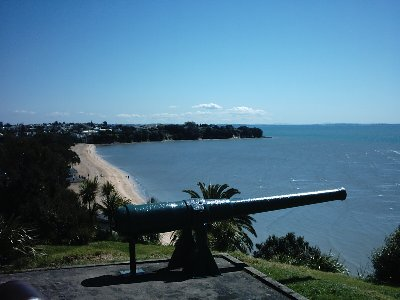 Gun emplacement, Fort Cautley, North Head