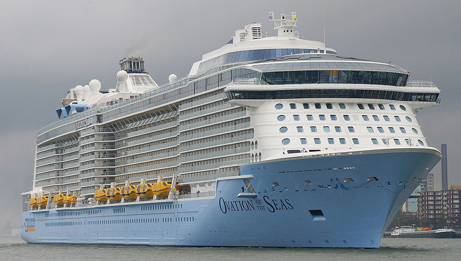 Ovation of the Seas Cruise Liner