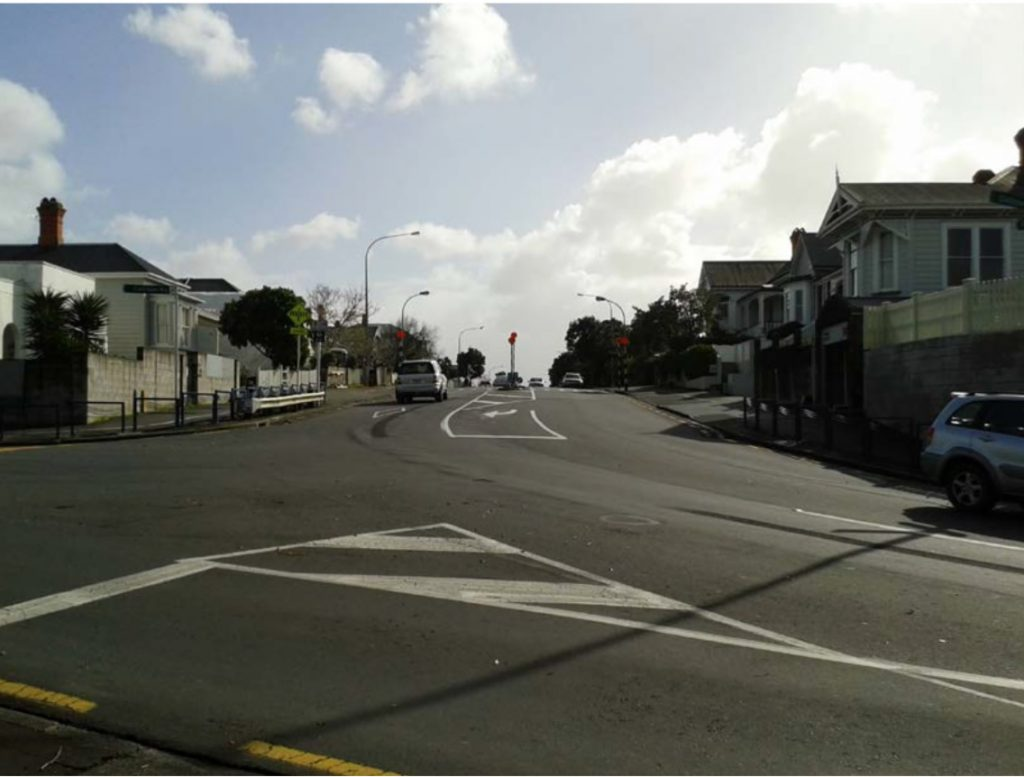 Victoria Rd - Calliope Road as it is currently