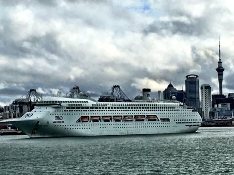 Pacific Jewel cruise liner