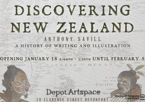 Discoverring New Zealand exhibition